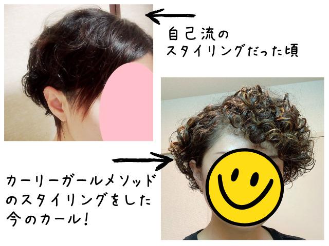 くせ毛を活かすスタイリング剤